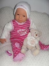 Traumdolls Antonio Juan Babypuppe Jonna 50 cm Baby Puppen Spielpuppen NEU