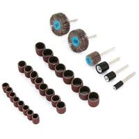 30PCS Electric Grinding Sanding Polishing Drill Grinder Rotary Tools Accessories