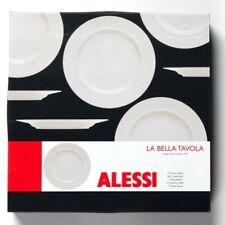 LOT 6 ASSIETTES Alessi La bella tavola 27 cm porcelaine