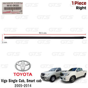 For Toyota Hilux Vigo Single Smart Cab 2005 14 Rh Outer Weatherstrip Door