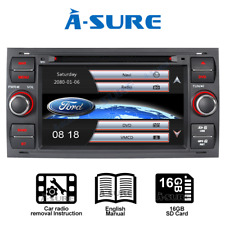 "7""Radio DAB+ GPS Sat Nav fit Ford Transit Focus C-MAX Galaxy Kuga FIESTA TRANSIT"