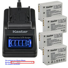 Kastar Battery LCD Quick Charger for Canon NB-7L CB-2LZ Canon PowerShot SX30IS