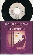 "BOF THE COLOR PURPLE 45 TOURS 7"" GERMANY TATA VEGA MISS CELIES BLUES"