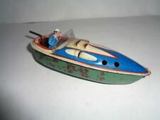 Old tin Candle Boat US-Zone