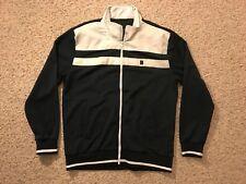 Marc Ecko Cut & Sew NYC 1972 Navy White Full Zipper Men's Track Jacket Size XL