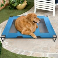 """48"""" Elevated Dog Bed Lounger Sleep Pet Cat Raised Cot Hammock for Indoor Outdoor"""