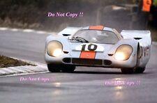 Rodriguez & Kinnunen JWA Gulf Porsche 917K BOAC 1000 Km 1970 Photograph 2