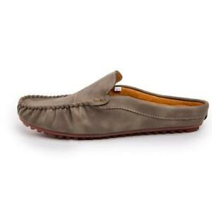 Mens Moccasins Slippers Shoes Pumps Slip on Loafers Flats Comfy Breathable New D