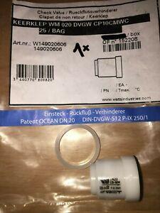 WATTS Einsteck-Rückflussverhinderer Ventil RV-WM DN 20 Q3 4 2,5 RV QN Qn Patrone