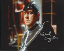 """Michael Jayston as Valeyard in Doctor WHO original signed 8x10"""" photo Autogramm"""
