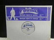 "MAXI 12"" Promo LA FOUINE Quelque chose de special SAMPMS 14923 French rap"