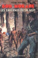 BOB MORANE BMP 2002 Poche ANANKE Lefrancq Les cavernes de la nuit Henri VERNES