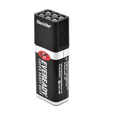 9 Volt LED Torch Flashlight 6 White Light Bulbs Emergency Battery Camping 9V New