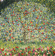 GUSTAV KLIMT :: APPLE TREE 1 :: VIENNA SECESSION 24 INCH CANVAS FINE ART PRINT