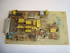 Eingangsteil EZ100 Zusatzgerät  RFT / Funkwerk Köpenick