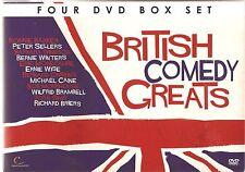 BRITISH COMEDY GREATS - 4 DVD GIFT SET SAN FERRY ANN * FUTTOCKS END & MORE
