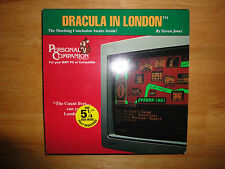 "DRACULA IN LONDON (1992) 5 1/4"" Disc Disk PC DOS Computer Game *COMPLETE*"