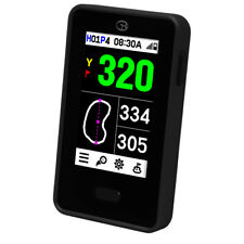 GolfBuddy VTX hablando de mano Telémetro Golf GPS, Negro