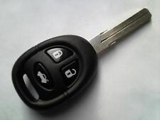 Genuine saab 9-3 9-5 96 99 900 etc (rf type) 3 bouton à distance alarme uncut key fob