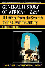 UNESCO General History of Africa, Vol. III, Abridged Edition: Africa from the Se