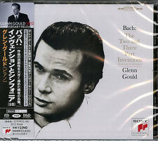 GLENN GOULD-BACH: THE TWO AND THREE PAART INVENTIONS-JAPAN SACD Hybrid G35