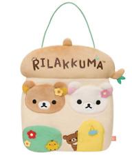 San-x Rilakkuma Stuffed Wall Mounted Pocket s Wardrobe Hang Bag from Japan