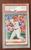 2019 Carter Kieboom Topps Update Batting #US109 Rookie RC PSA 10 Gem Mint QTY