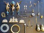Antique Dutch clock parts