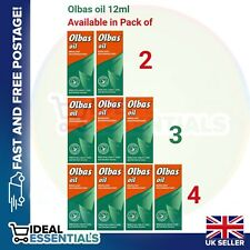 Olbas oil Inhalant Decongestant 12ml.Relief from Catarrh,Colds&Blocked Sinuses.