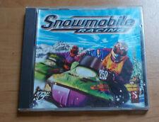 GT Interactive SNOWMOBILE RACING PC CD-Rom Jewelcase 1998 Win 95 / 98 retro