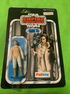 Princess Leia HOTH Outfit Vintage Figure, Card With Attached Bubble Palitoy