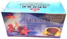 5 Boxes x 20 tea bags Royal King 100% Natural Gourmet`s Diabetics Herbal Tea