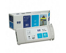 Genuine HP designjet 5500 5000 UV ink 83 CYAN