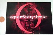 A Perfect Circle Postcard (American Rock, Band, Music) Brand New, 2000