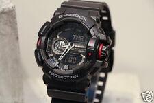 GA-400-1B Black Red G-Shock 200m Digital Resin Band 200m Casio Sport Men's