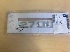 GENUINE CHROME RENAULT 2700 BADGE LOGO DECAL STICKER BADGE NEW