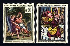 FRANCIA - Quadri di Francia - 1963 - Opere d'arte - Delacroix - Vet. di Conches