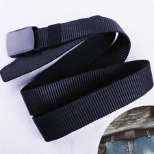 Casual Military Grade Automatic Buckle Canvas Tactical Belt Waistband Strap