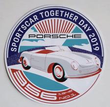PORSCHE SPORTSCAR TOGETHER DAY 2019 STICKER DECAL 911 356 1948 No. 1 NEW RAR