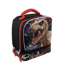 Jurassic World Kingdom Fallen Lunch Bag Soft Insulated Dual Compartment Box NEW