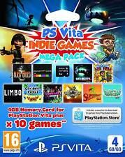 Indie games-Mega Pack | 10 juegos | 4gb | sony ps vita | nuevo & OVP | usk18