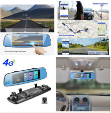 4 G Auto DVR Dash Cam Video Registratore GPS ADAS monitor remoto fotocamera posteriore 4 LED