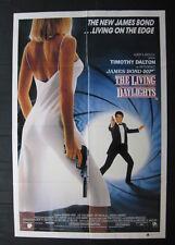 THE LIVING DAYLIGHTS 1987 Orig Australian one sheet movie poster James Bond 007
