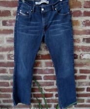 Diesel Industry Fanker Mens Slim Boot Indigo Wash Jeans Size 34 (32x30) W32 L30