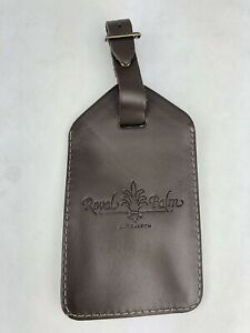 Royal Palm MARRAKECH Morocco LUXURY Fairmont HOTEL Resort LEATHER LUGGAGE TAG