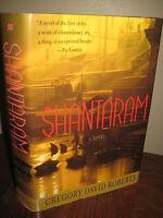 Shantaram Gregory David Roberts 1st Edition First Printing Novel Film TV Show