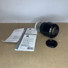 Minolta 75-300mm f4.5-5.6 D AF Lens Maxxum 50 Camera