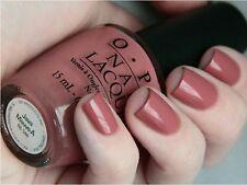 OPI Nail Polish JAVA MAUVE-A HTF + TOE Sep classic taupe mauve brown lacquer