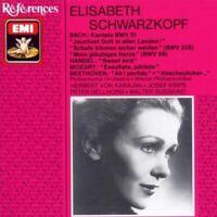 Bach:Cantatas Bwv 51, 208, 65 / Elisabeth Schwarzkopf, Herbert von Karajan - CD