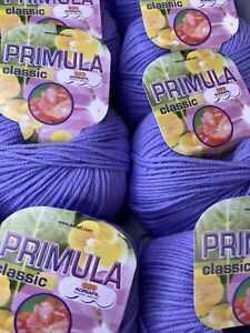 Adriafil Classic Primula Merino Yarn 10 X 50g Bslls Shade 062 Lilac